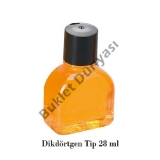 Dikdörtgen tip şişe 28 ml