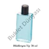 Pvc şişe Dikdörgen tip 84 ml