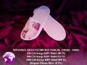TR103 İstanbul Siluetli Özel Terlik