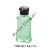 Dikdörtgen tip 38 ml şampuan şişesi