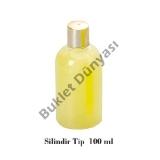 Silindir tip  Pet şişe 100 ml ( STOK SORUNUZ )