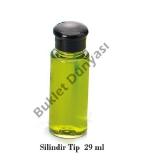Plastik şişe Silindir tip 29 ml